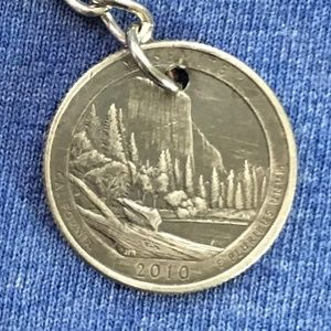 2010 California State Quarter Keychain 4for$20